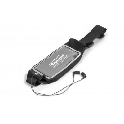 Interval Running Pouch Black