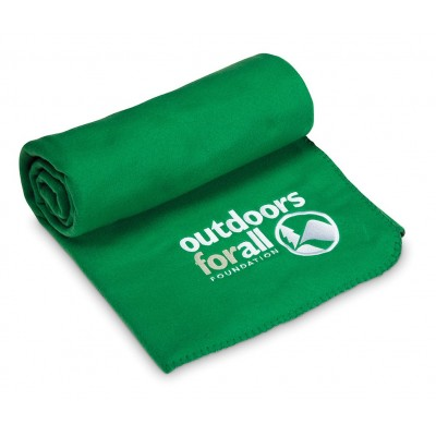 Cuddle Fleece Blanket Green
