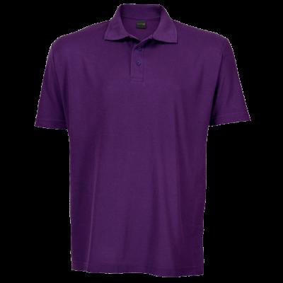 175g Kiddies Pique Knit Golfer Purple Size 7 to 8