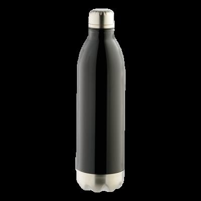 1l Double Wall Vacuum Flask Black
