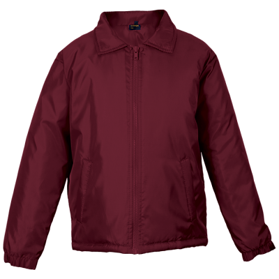 Mens Max Jacket Maroon Size Large