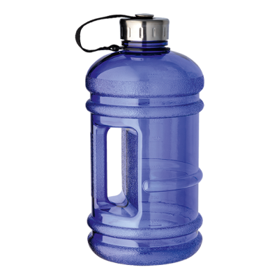 2.2 Litre Water Bottle With Integrated Carry Handle Blue