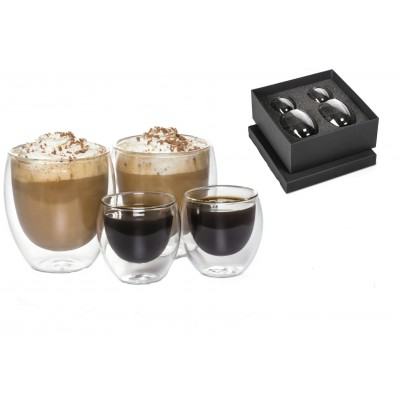 Coffea Double-Walled Coffee and Espresso Set