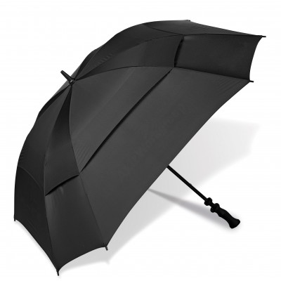Gary Player Square Golf Umbrella Black