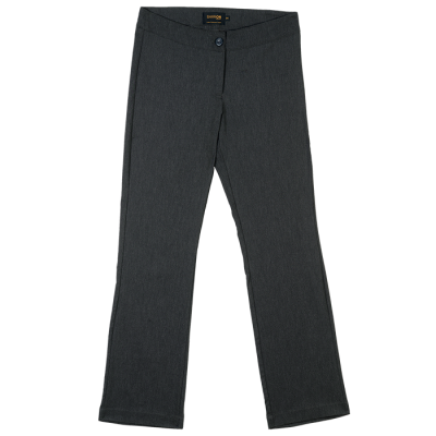 Ladies Statement Stretch Pants Charcoal Heather Size 32