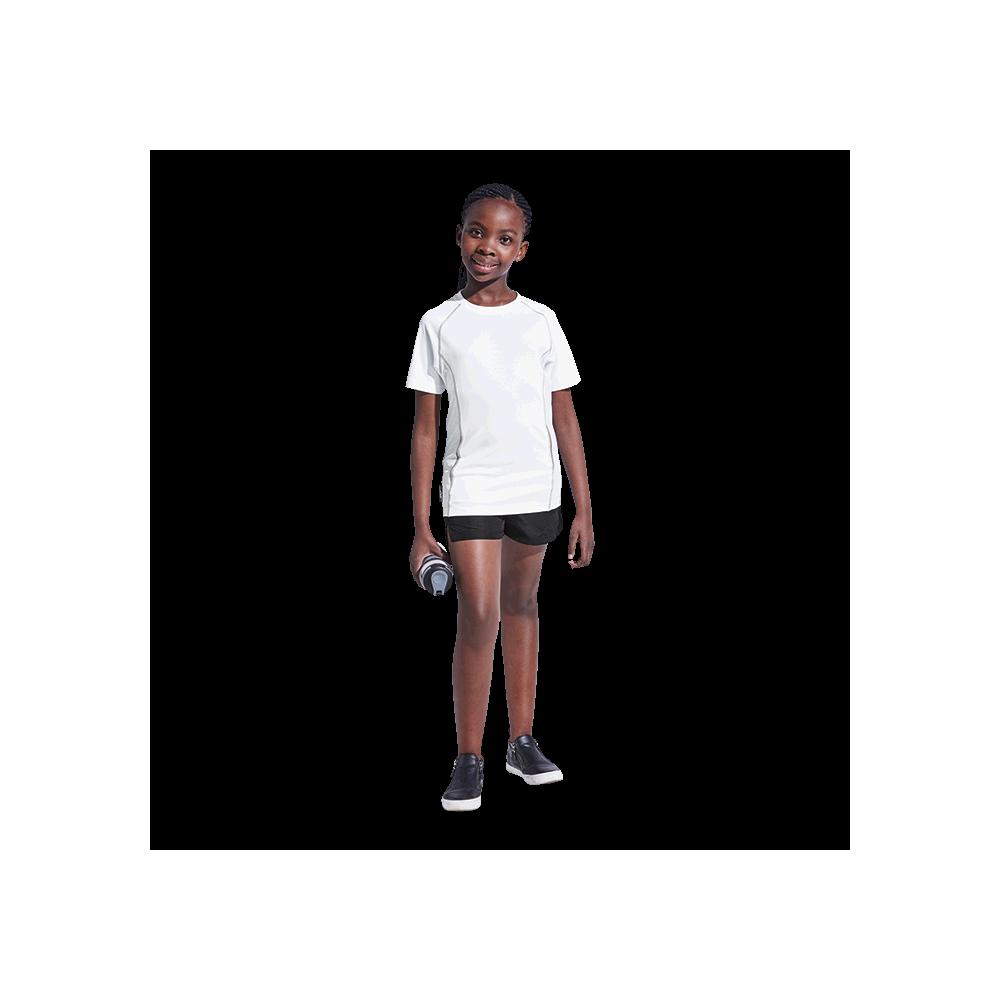 BRT Kiddies Running Shirt White Size 9 to 10