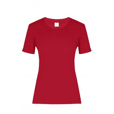 Ladies All Star T-Shirt Red Size 3XL