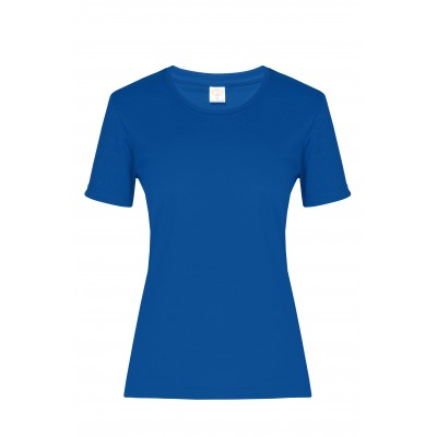 Ladies All Star T-Shirt Royal Blue Size Small