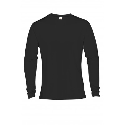 Mens Long Sleeve All Star T-Shirt Black Size 2XL
