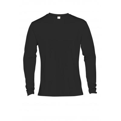 Mens Long Sleeve All Star T-Shirt Black Size XL