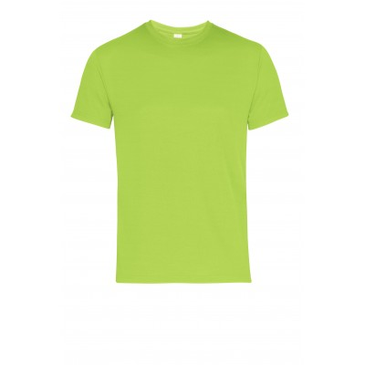 Mens All Star T-Shirt Lime Size Large