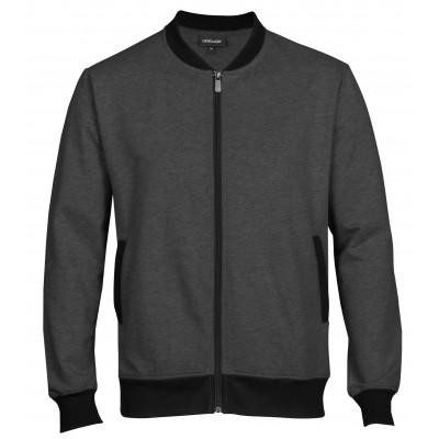 Mens Bainbridge Sweater Charcoal Size 3XL