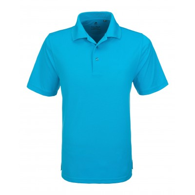 Gary Player Wynn Mens Golf Shirt Aqua Size 4XL