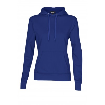 Ladies Essential Hooded Sweater Royal Blue Size 3XL