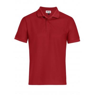 Mens Exhibit Golf Shirt Red Size 4XL