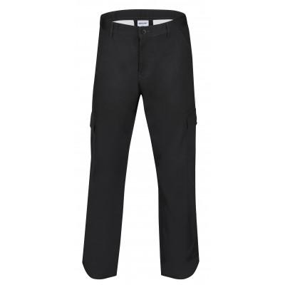 Mens Cargo Pants Black Size 28