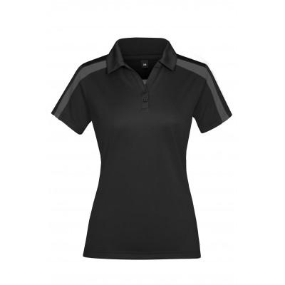 Ladies Nautilus Golf Shirt Black Size 4XL