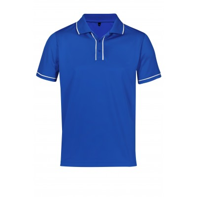 Mens Osaka Golf Shirt Royal Blue Size 5XL