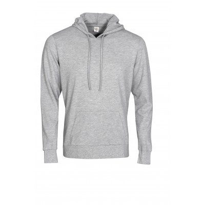 Mens Physical Hooded Sweater Grey Size 3XL