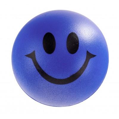 Smile Stress Ball Blue