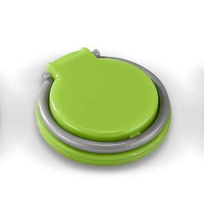 Coil-Ring Grip & Phone Stand Lime