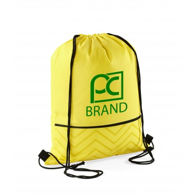 Waverly Drawstring Bag Yellow
