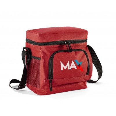 Thermo 12-Can Cooler Red
