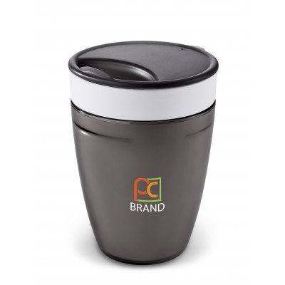 Manhattan Double Wall Tumbler Charcoal