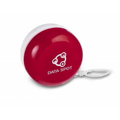 Yomega Two-Tone Yo-Yo Red