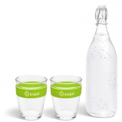 Kooshty Kool Drinking Set Lime