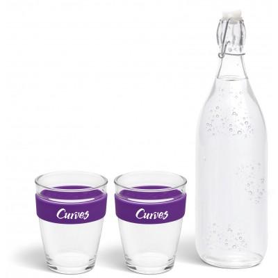 Kooshty Kool Drinking Set Purple