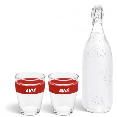 Kooshty Kool Drinking Set Red