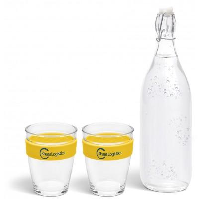 Kooshty Kool Drinking Set Yellow