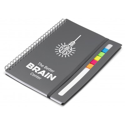 Alexis A5 Notebook Grey
