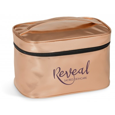Steffi Toiletry Bag Rose Gold