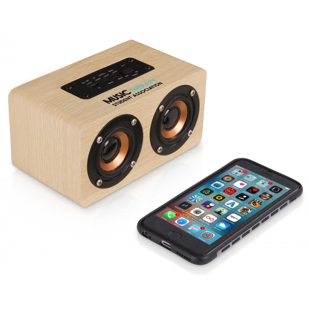 Amazon Deco Bluetooth Speaker Natural