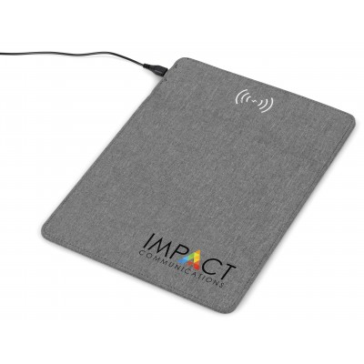 Redox Mousepad With Wireless Charger Grey