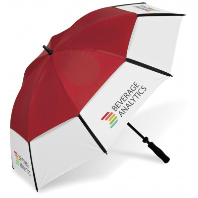 Royalty Golf Umbrella Red