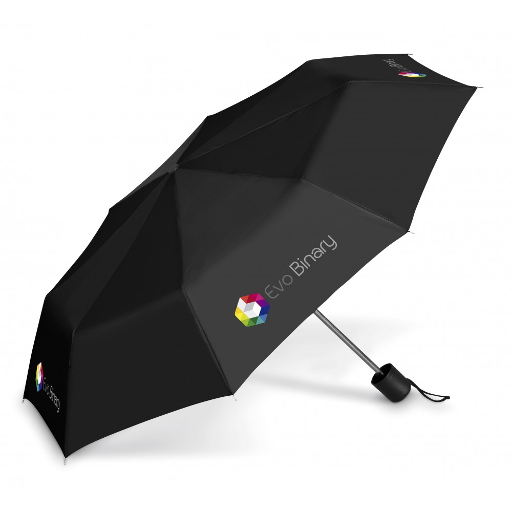 Tropics Compact Umbrella Black