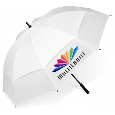 Torrent Golf Umbrella Solid White