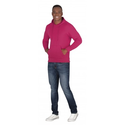 Mens Omega Hooded Sweater Pink Size XL