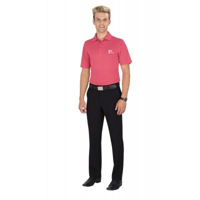Mens Wynn Golf Shirt Pink Size 4XL
