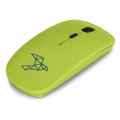 Omega Wireless Optical Mouse Lime