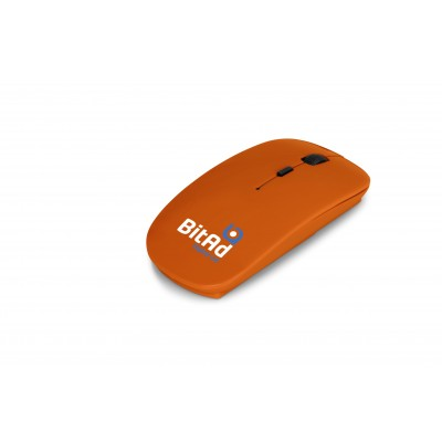 Omega Wireless Optical Mouse Orange