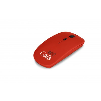Omega Wireless Optical Mouse Red