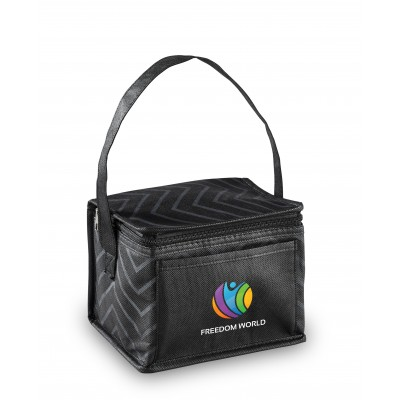 Waverly 6-Can Cooler Black