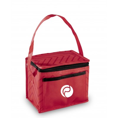 Waverly 6-Can Cooler Red