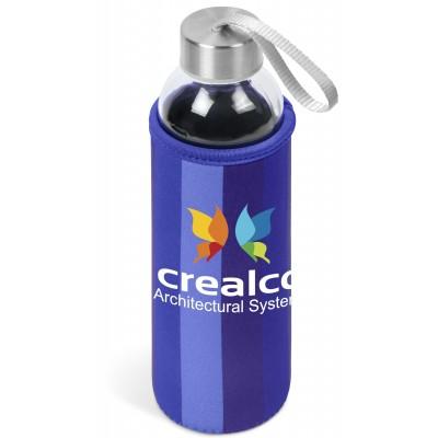 Kooshty Quirky Water Bottle Blue