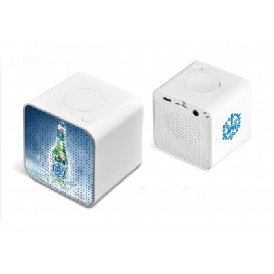 Harmony Bluetooth Speaker Solid White
