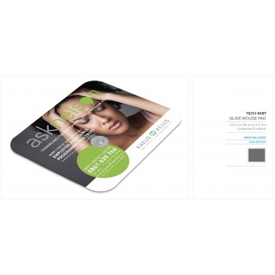 Glide Mouse Pad Solid White